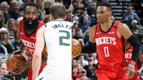 James Harden and Russell Westbrook combine for 72 points, lead Houston Rockets to impressive victory in Salt Lake City