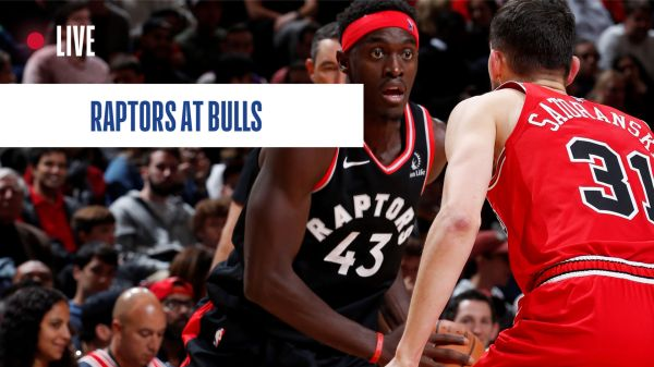 Toronto Raptors at Chicago Bulls: Live tracking of star forward Pascal Siakam | NBA.com Canada | The official site of the NBA