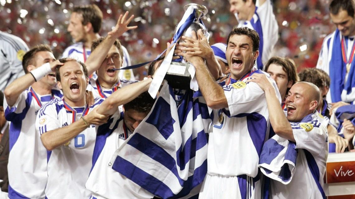 Greece winning Euro 2004