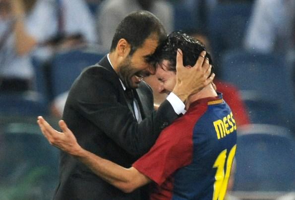 A admiração de Guardiola por Lionel Messi em 10 frases   Goal.com