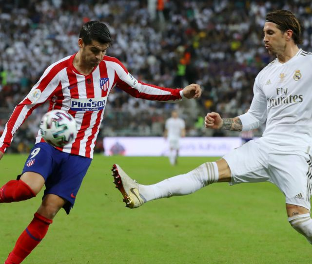 Real Madrid V Atletico Madrid Match Report  Super Cup