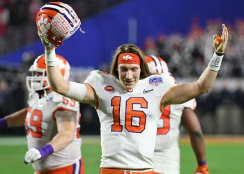 Clemson's Trevor Lawrence knows white athletes can't ignore fight against racial injustice