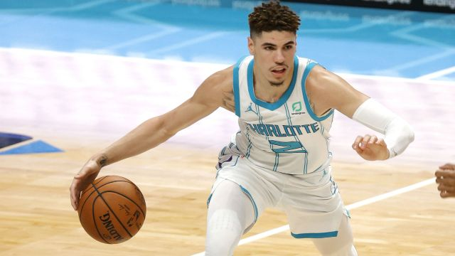 LaMelo Ball of the Charlotte Hornets