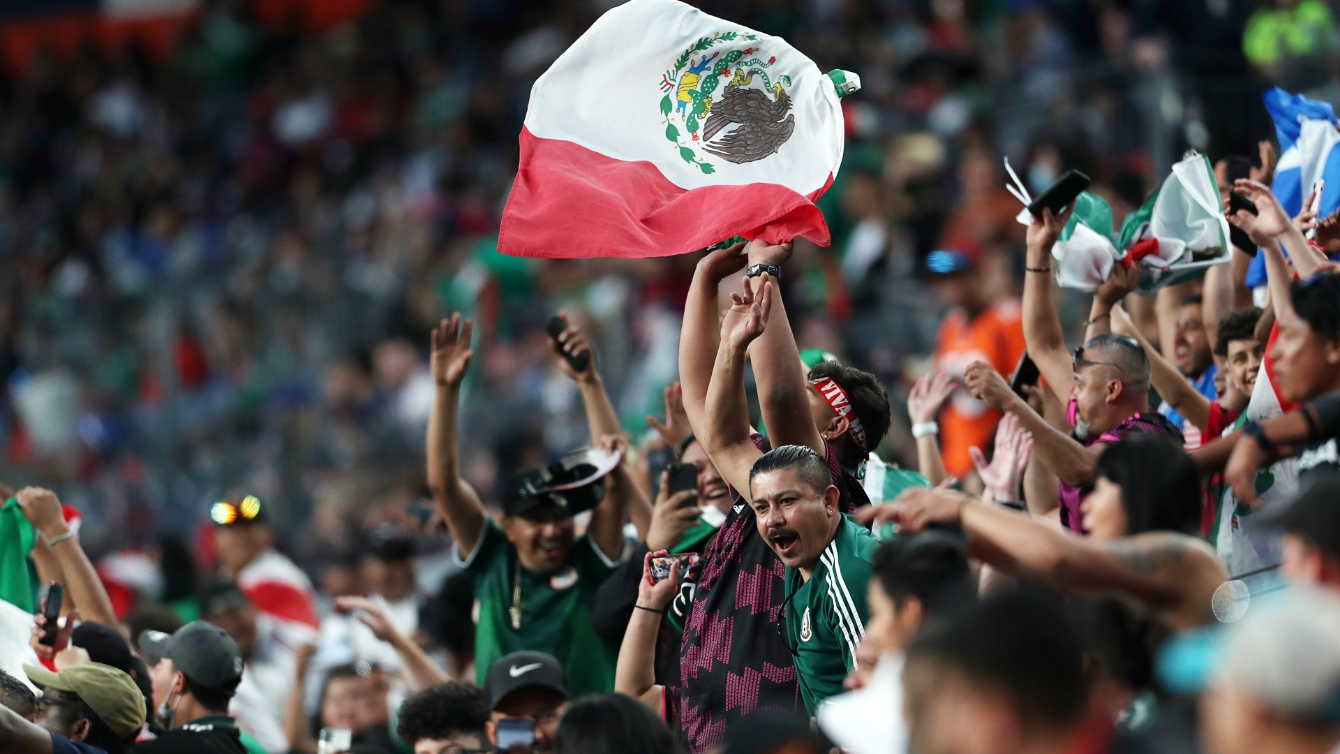 mexico fans with