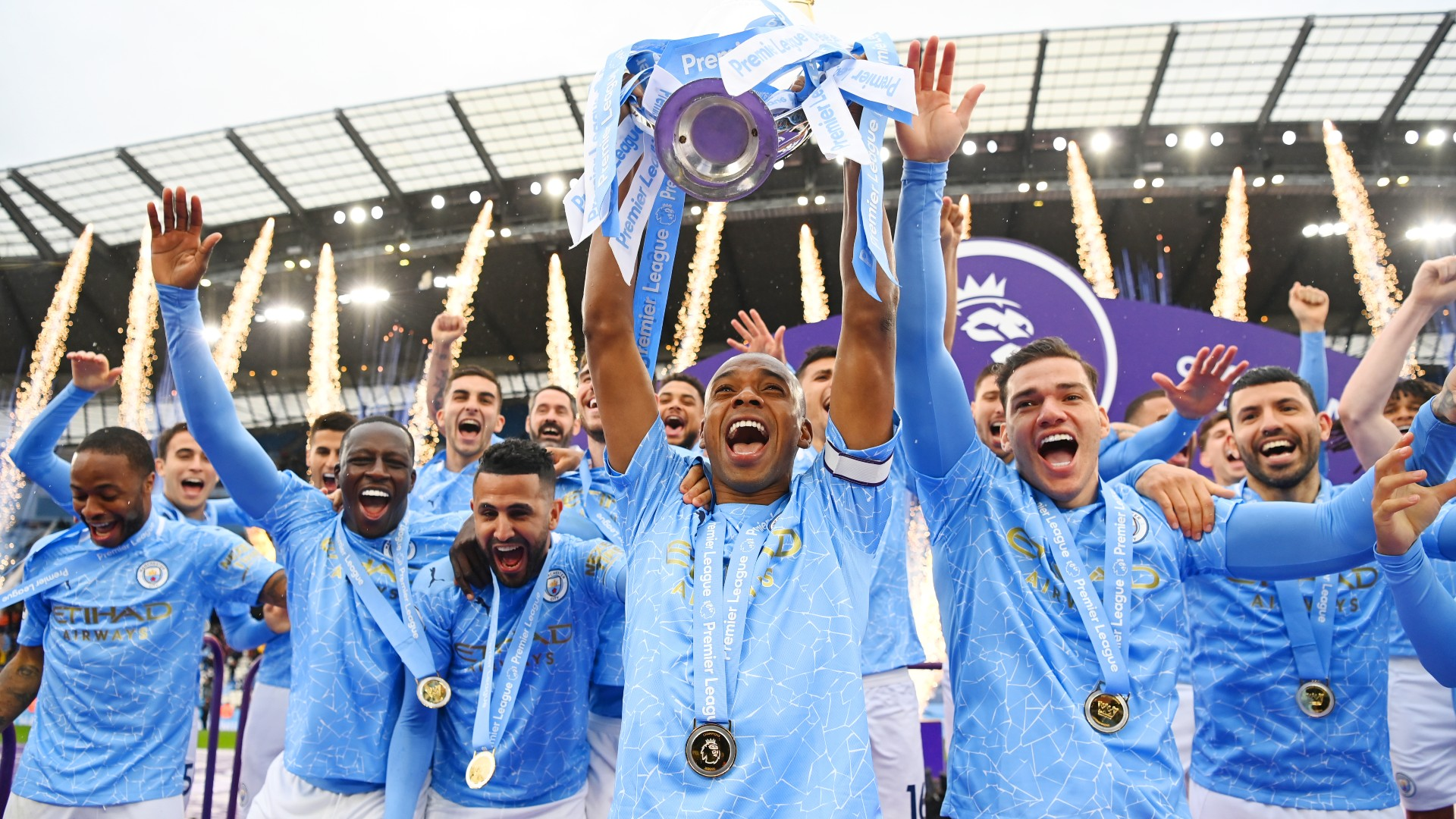 manchester city hoist 2021 premier league trophy 5dncru8vrb451hwkgiqp7z88p