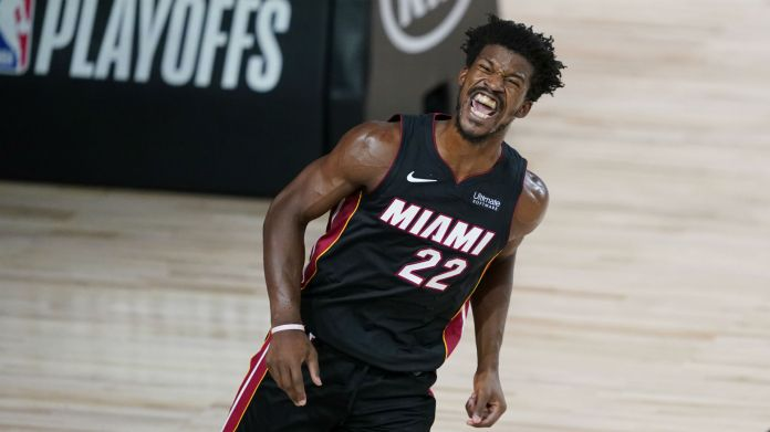 Heat's Jimmy Butler pokes fun at 'sorry ass' reporter who asked about schedule