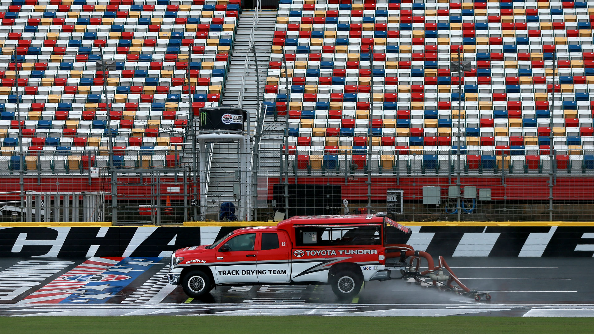 NASCAR race weather: Will rain in Charlotte forecast delay Wednesday's Cup race?