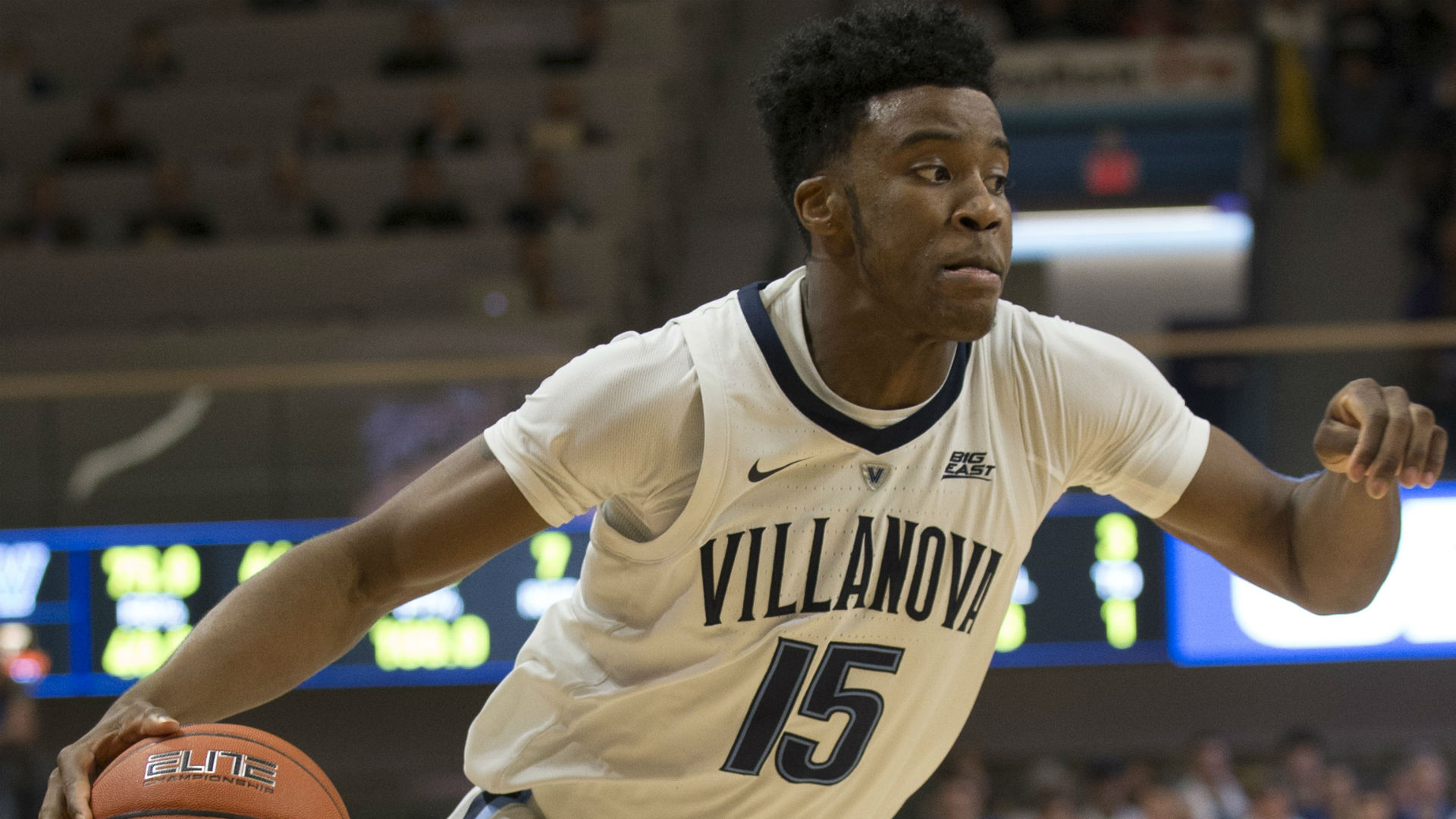 Photo of Villanova forward Saddiq Bey's commitment to stay in NBA Draft will make some GM look very smart