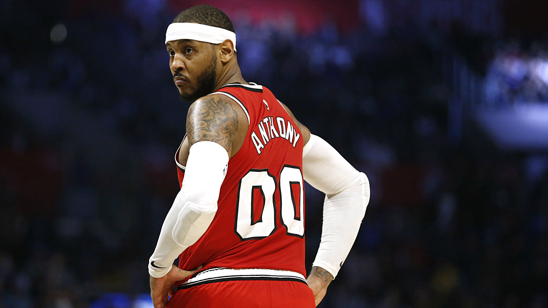 """Photo of Carmelo Anthony is not just an """" up in the air """" player at the start of the NBA season"""