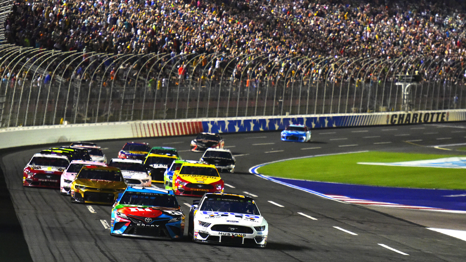 NASCAR rain delay updates: Weather in forecast pushes Charlotte night race to Thursday