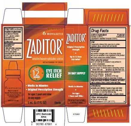 Image Result For Zaditor Allergy Eye Drops
