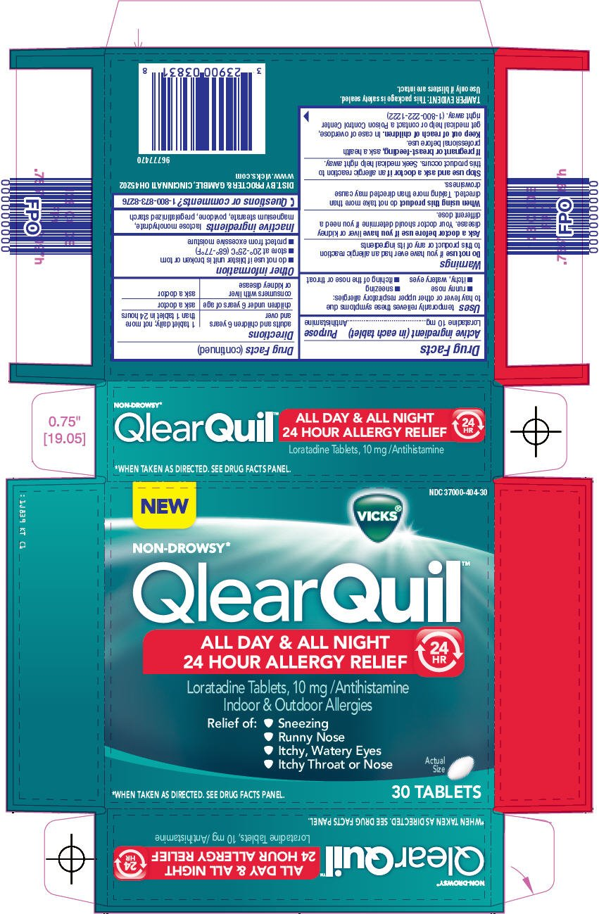 Vicks QlearQuil All Day And All Night 24 Hour Allergy Relief (The ...