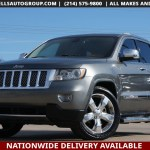 Sold 2011 Jeep Grand Cherokee Overland Summit Chrome Pano Adptv Crus Nav In Mckinney