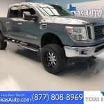 Sold 2017 Nissan Titan Xd Sv Lifted Navi Rear Cam Buckets In Houston