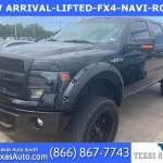 Sold 2013 Ford F 150 Fx4 Lifted Luxury Pkg Navi Roof Leather In Webster