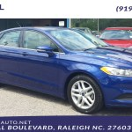 Sold 2016 Ford Fusion Se In Raleigh