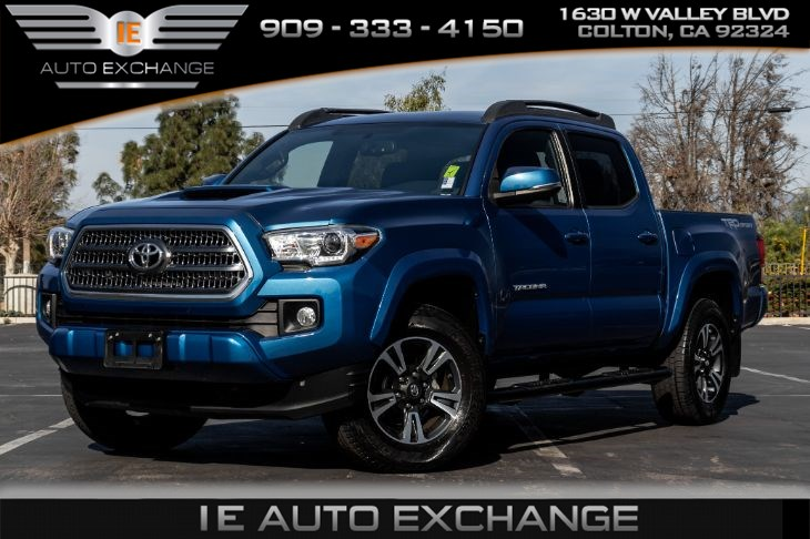 2016 toyota tacoma trd sport w trd sport package towing package bluetooth ie auto exchange