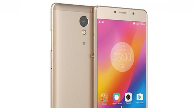 Lenovo is expected to make the smartphone available in two colour options -- Champagne Gold and Graphite Grey.