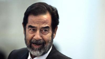 Though Saddam Hussein once owned dozens of marble palaces, he seemed reasonably content in his small prison cell, the report said. (Photo: AP)