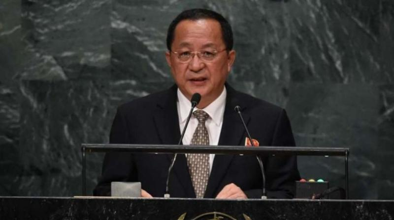 North Korea Foreign Minister Ri Yong Ho (Photo: AFP)