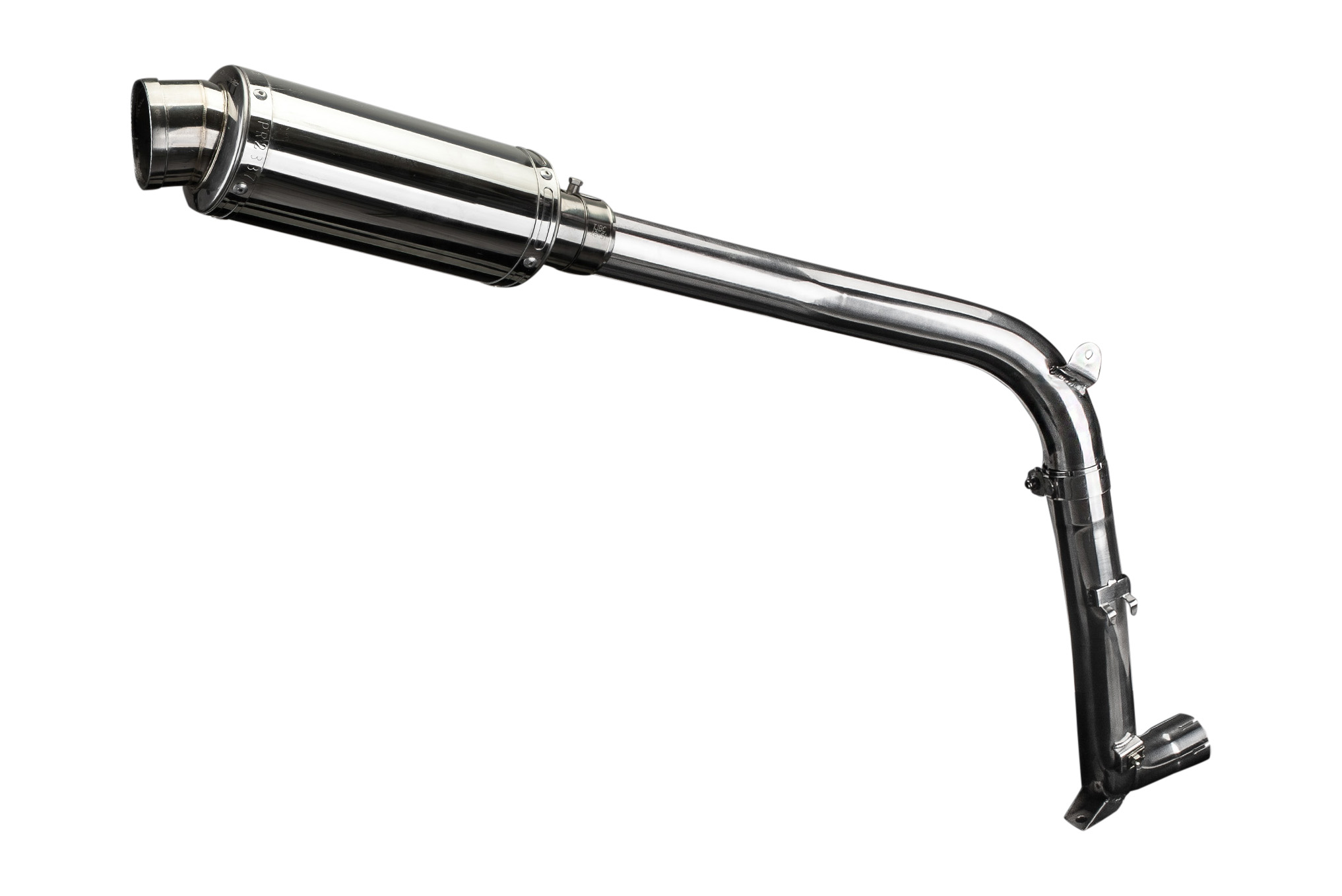 Triumph Sprint St Decat 225mm Oval Stainless Race Exhaust Kit