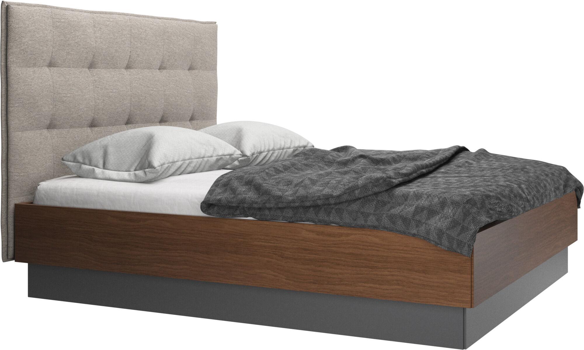Senge Beige Valnod Moderne Dansk Design Boconcept