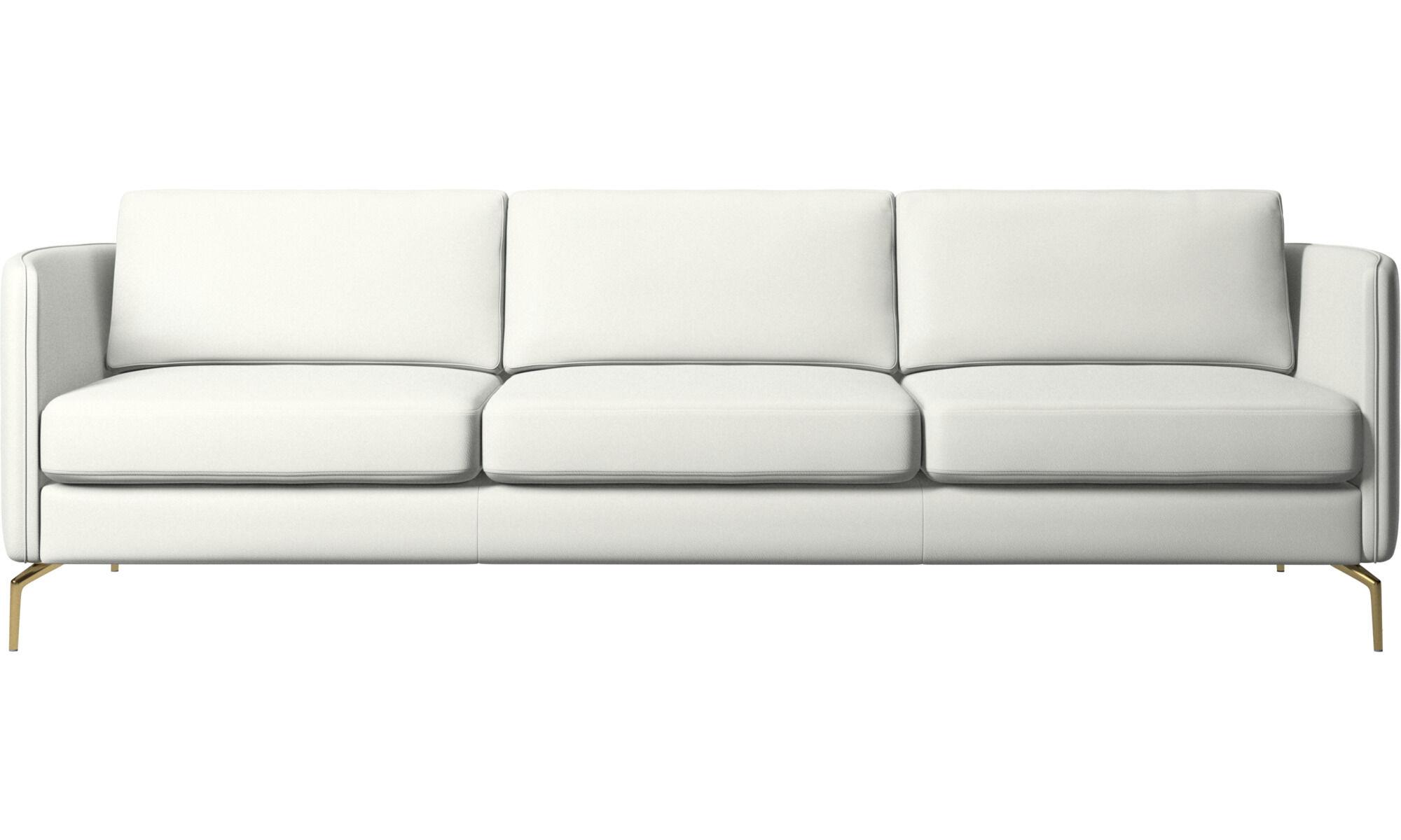 3 Personers Sofaer Hvid Laeder Moderne Dansk Design Boconcept