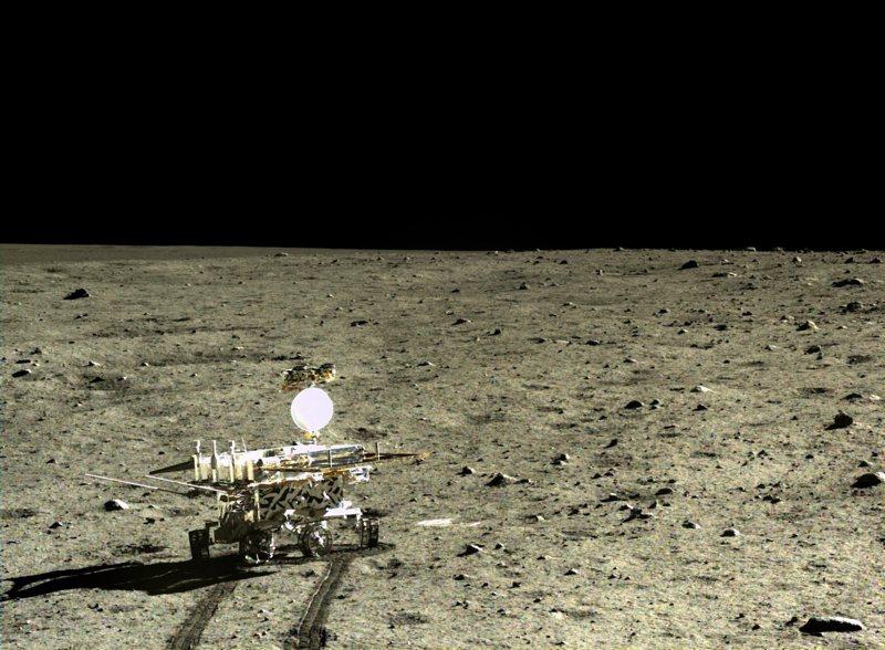 china national space administration (cnsa) Chinas Weg zur Raumfahrtgroßmacht: 2013 brachte man den Lander Jadehase auf den Mond; 2017 will man von dort Gestein holen.