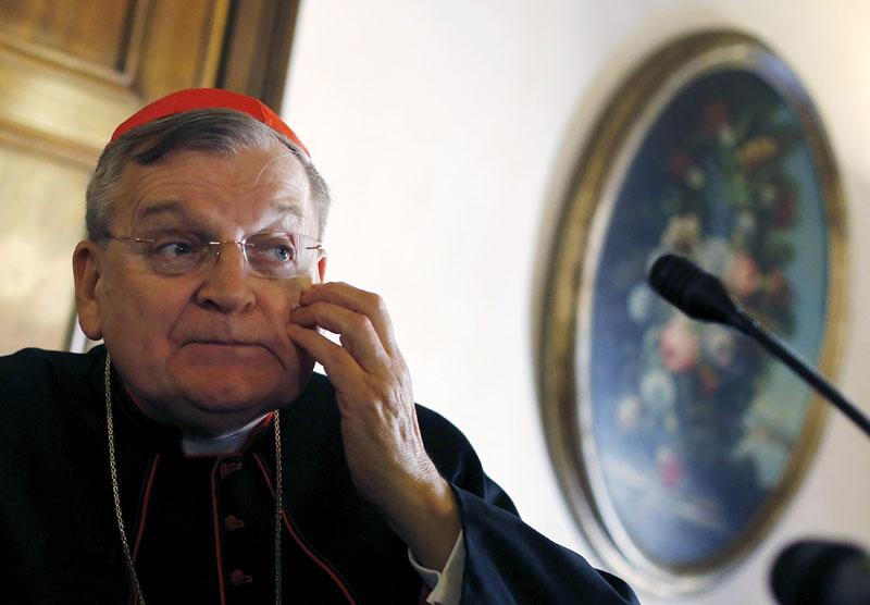 foto: reuetrs/bianchi Kardinal Raymond Burke ist