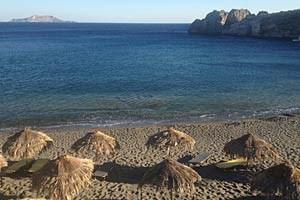 Das ist ein Stückchen Südküste vor Kreta. Nur wenige Kilometer davor befinden sich gewaltige Erdgasvorkommen.