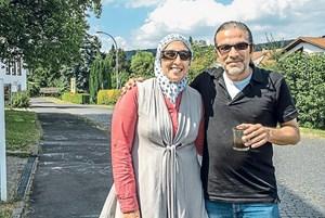 Aisha und Farid Hajjar sind tiefgläubige Syrer, die ebenfalls nicht zurückwollen.