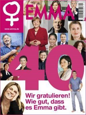 foto: emma In der Jubiläumsausgabe des Magazins