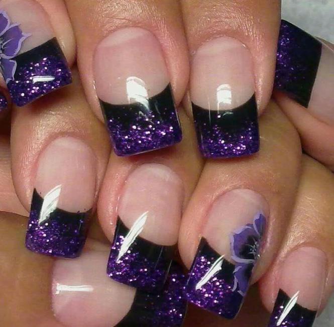 French Tips Nails Designs