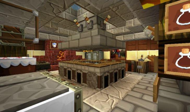 Cork Board Minecraft Kitchen Design