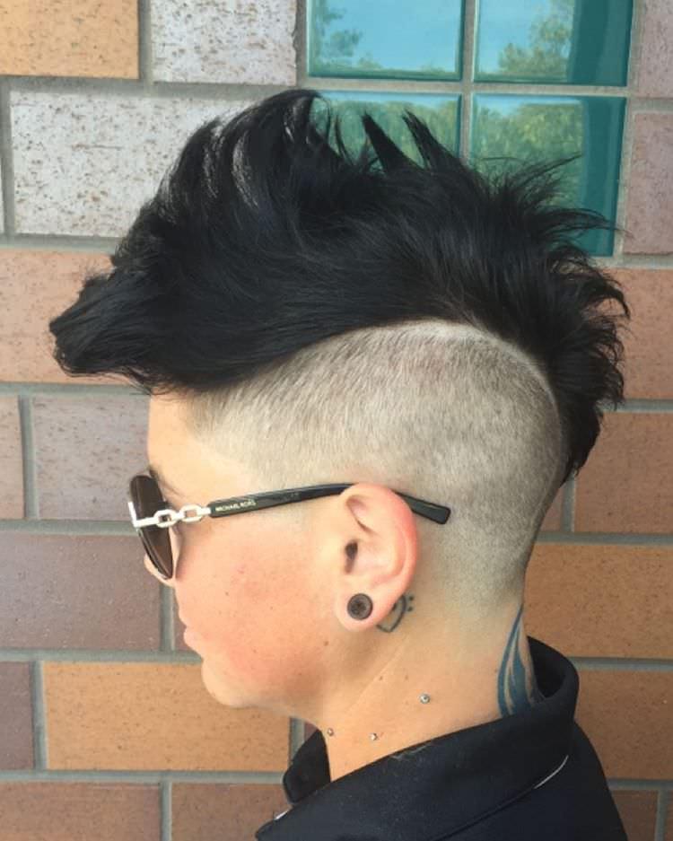 22 Mohawk Haircut Ideas Designs Hairstyles Design