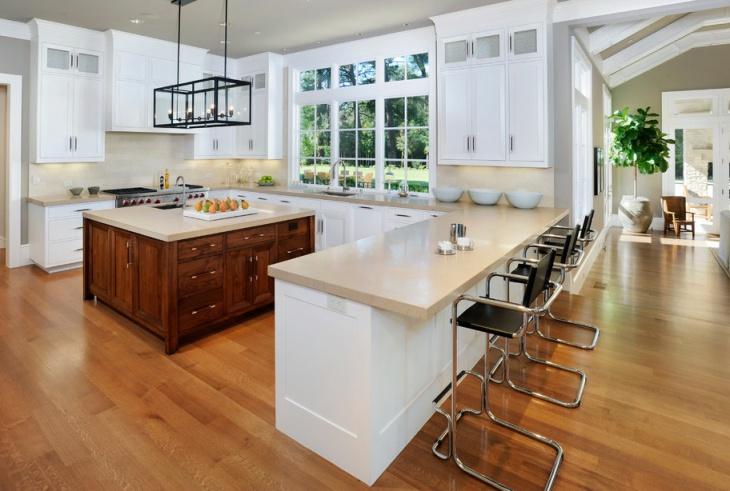 Kitchen Island U Shaped