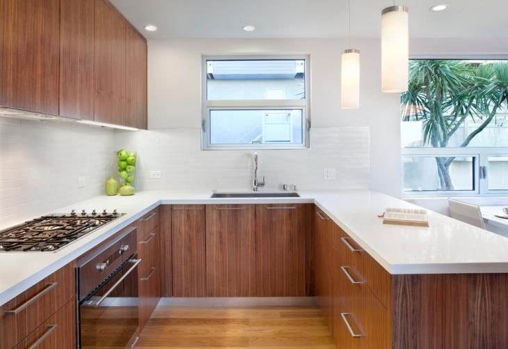 20 U Shaped Kitchen Designs Ideas Design Trends Premium PSD Vector Downloads
