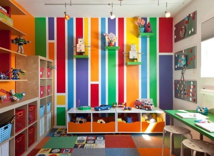 20+ Accent Wall Designs, Decor Ideas For Kids