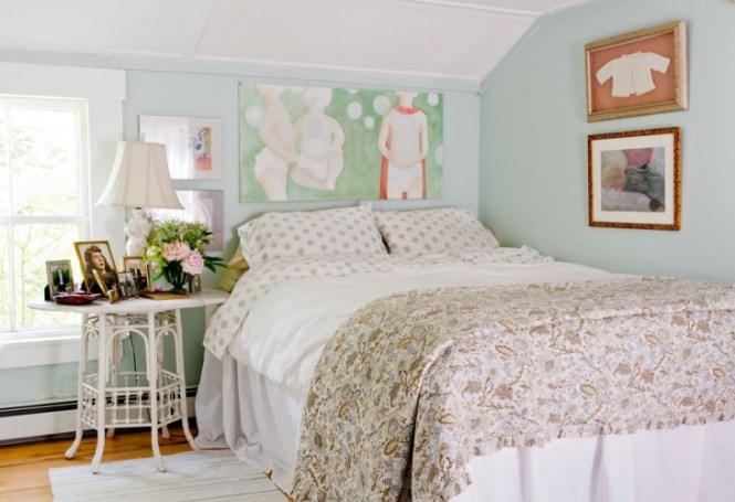Kids Pastel Blue Bedroom Wall Decor