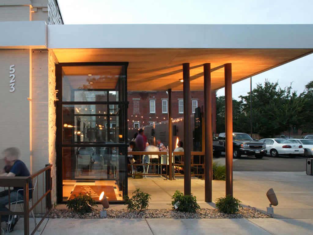 Small Modern Cafe Exterior Design Novocom Top