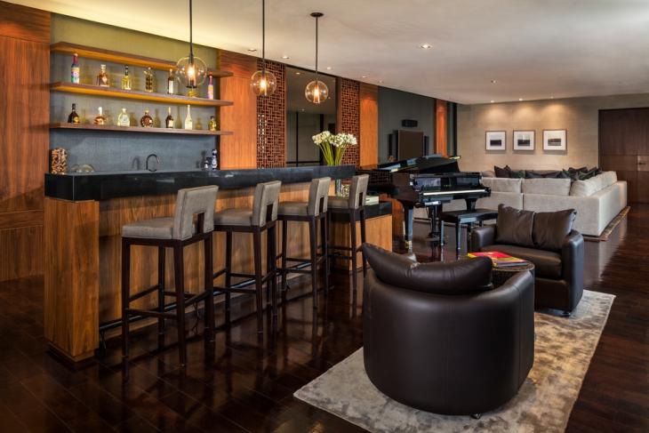 21 Living Room Bar Designs Decorating Ideas Design Trends