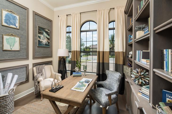 20 Coastal Home Office Designs Decorating Ideas Design