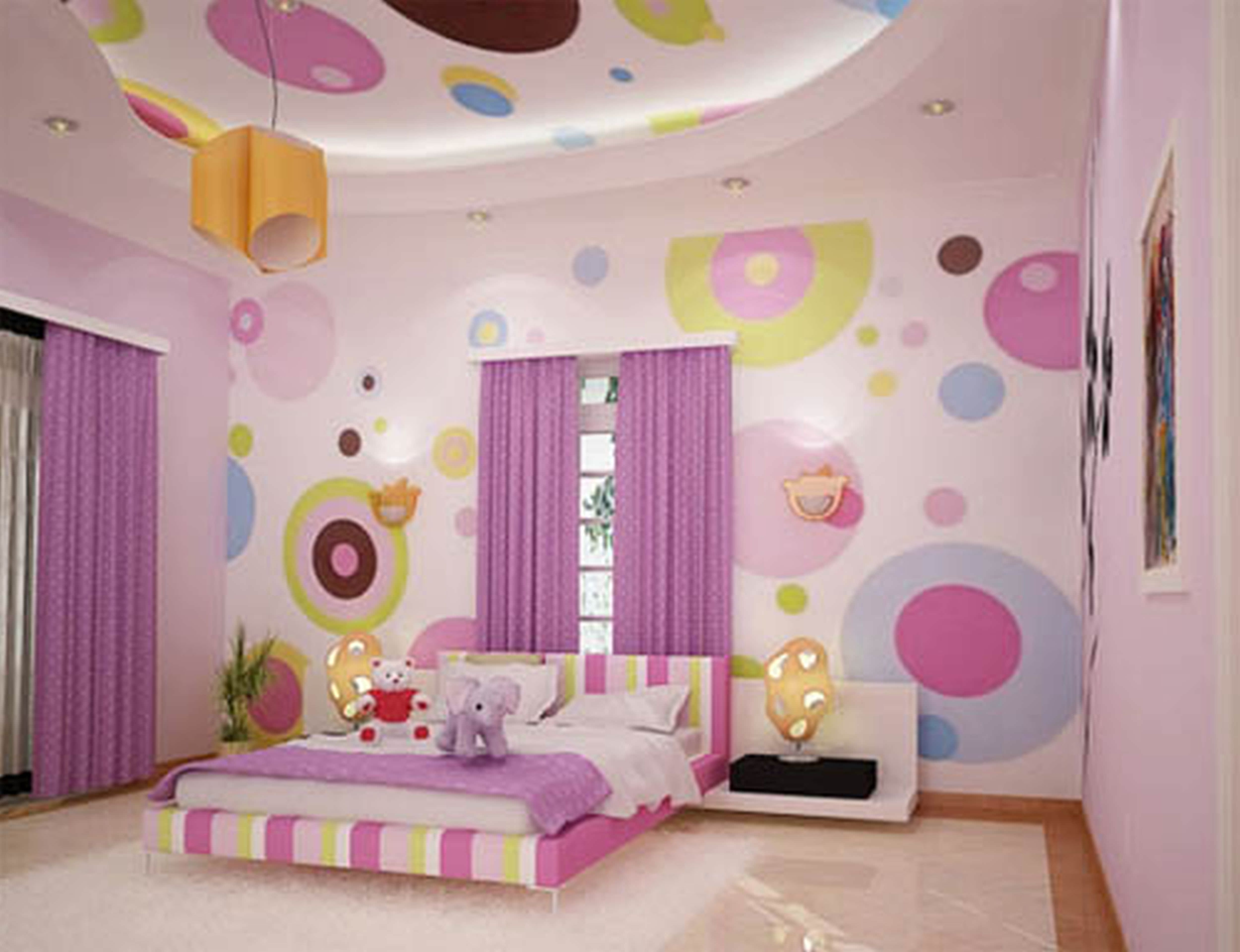 15+ Polka Dot Interior Wall Designs, Decor Ideas