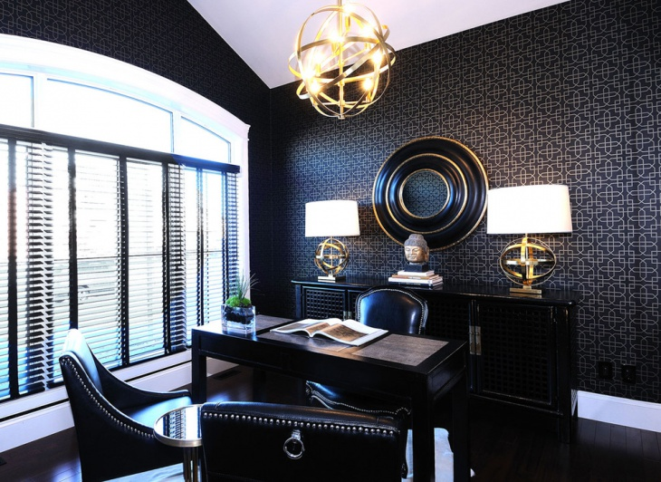 20 Masculine Home Office Designs Decorating Ideas Design