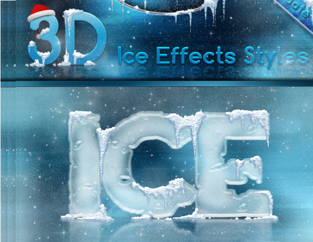 13 Ice Brushes Download For Photoshop Gimp Design