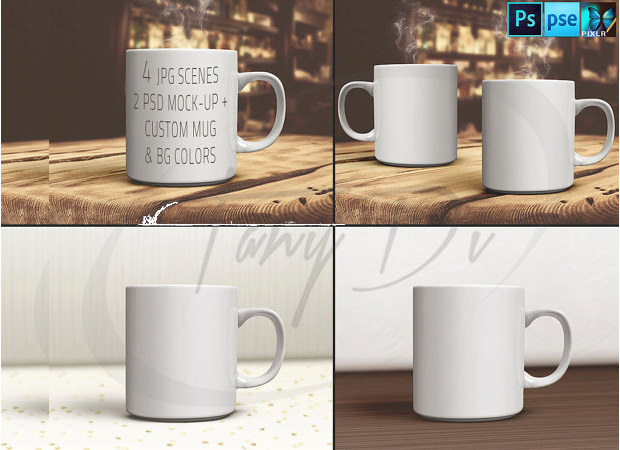 31 Mug Mockups PSD Download Design Trends Premium