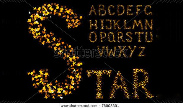 12 Star Fonts TTF OTF Download Design Trends