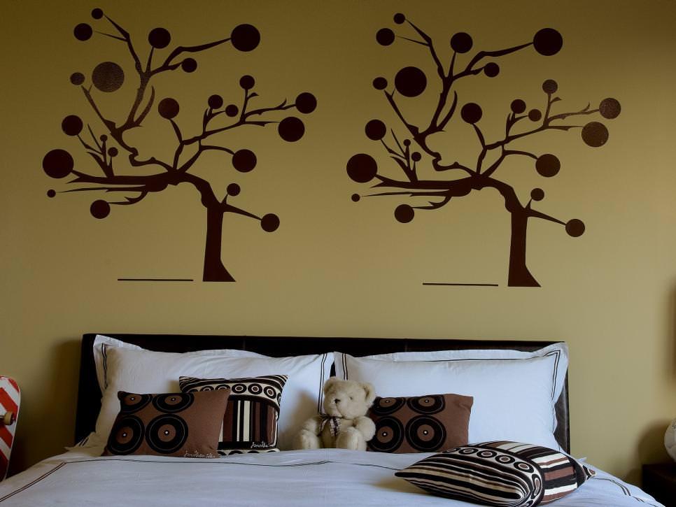 23+ Bedroom Wall Paint Designs, Decor Ideas