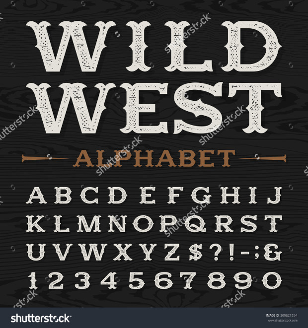 19 Western Fonts TTF OTF Download Design Trends