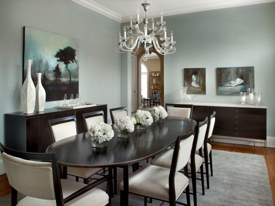 25+ Grey Dining Room Designs, Decorating Ideas